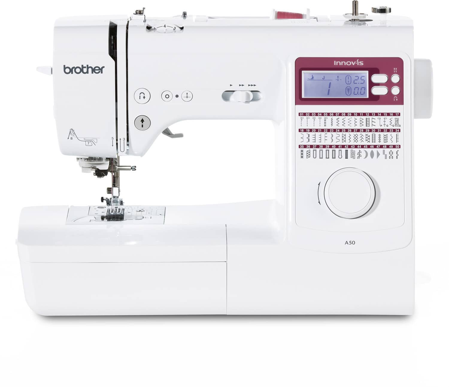 brother innov is A50 Nähmaschine im Test