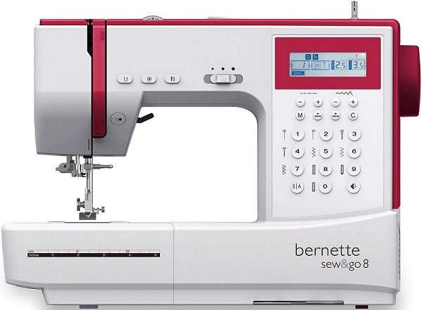 bernette sew and go 8 test