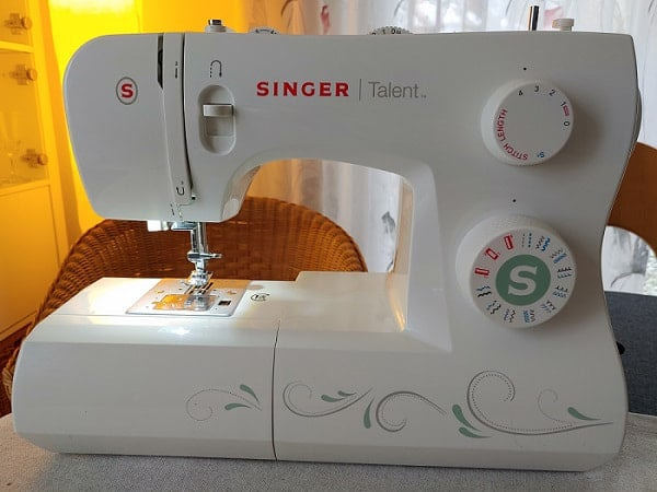 singer talent 3321 von vorn